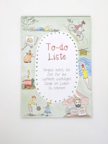 Schreibblock - to-do-liste